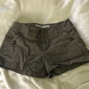 Cute olive green shorts